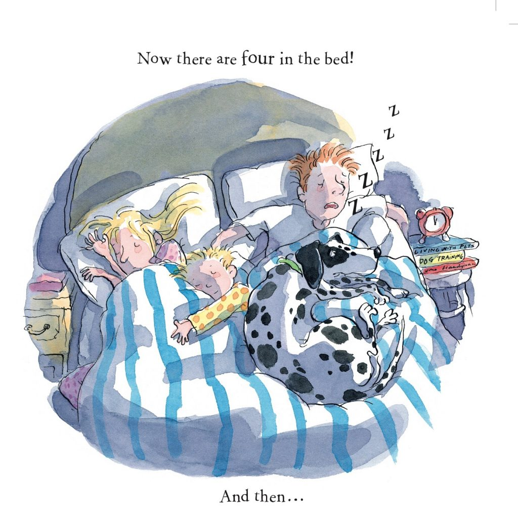 'Bed Tails - Now there are four in the bed!' by Mitch Vane