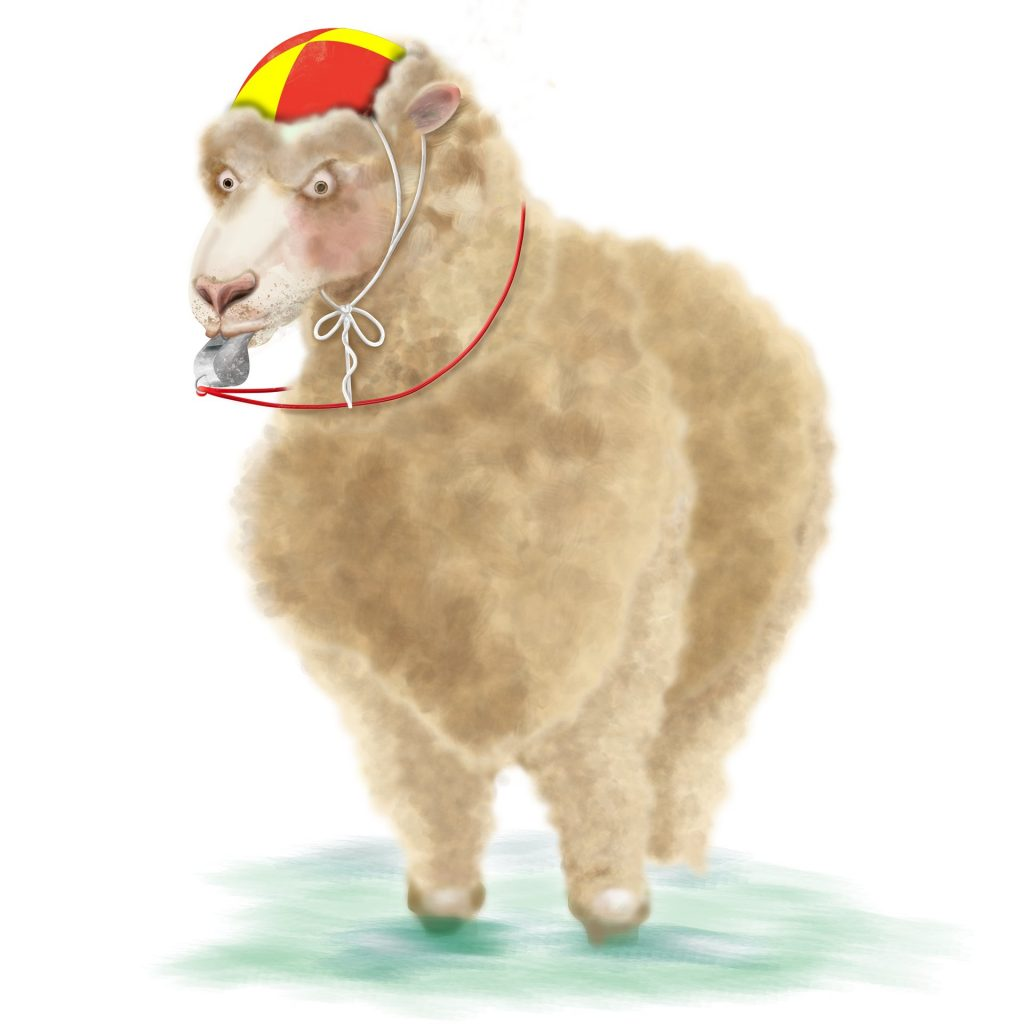 WOOLLY THE SHEEP by Nandina Vines