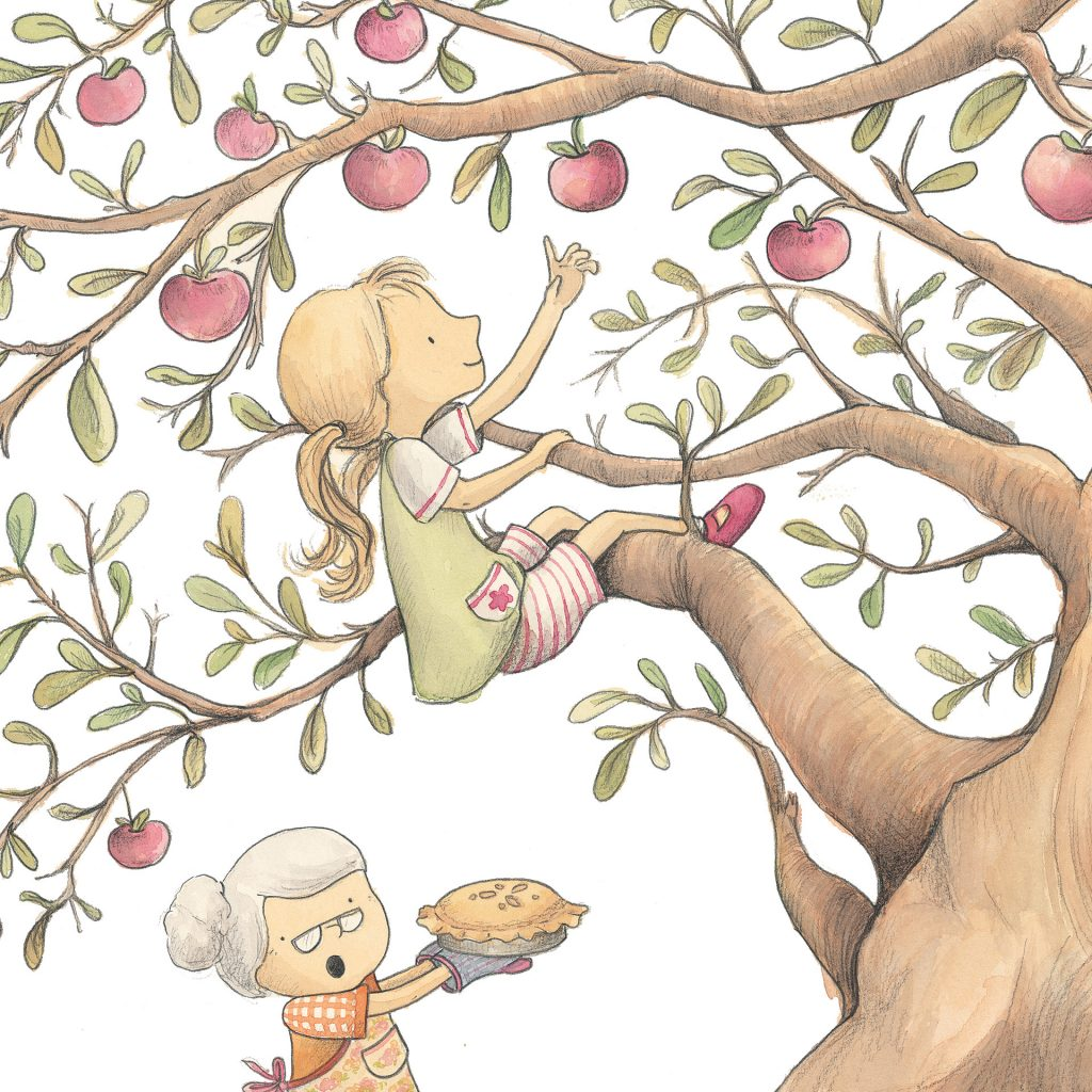'Grandma's Apple Tree' by Nicky Johnston