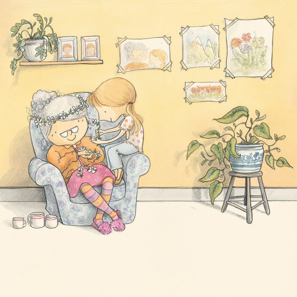 'Grandma Forgets' by Nicky Johnston