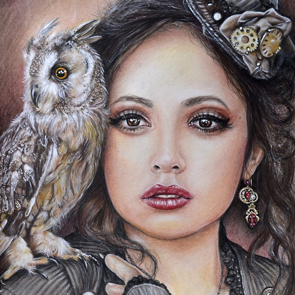 'Victorian Steampunk' by Lesley McGee