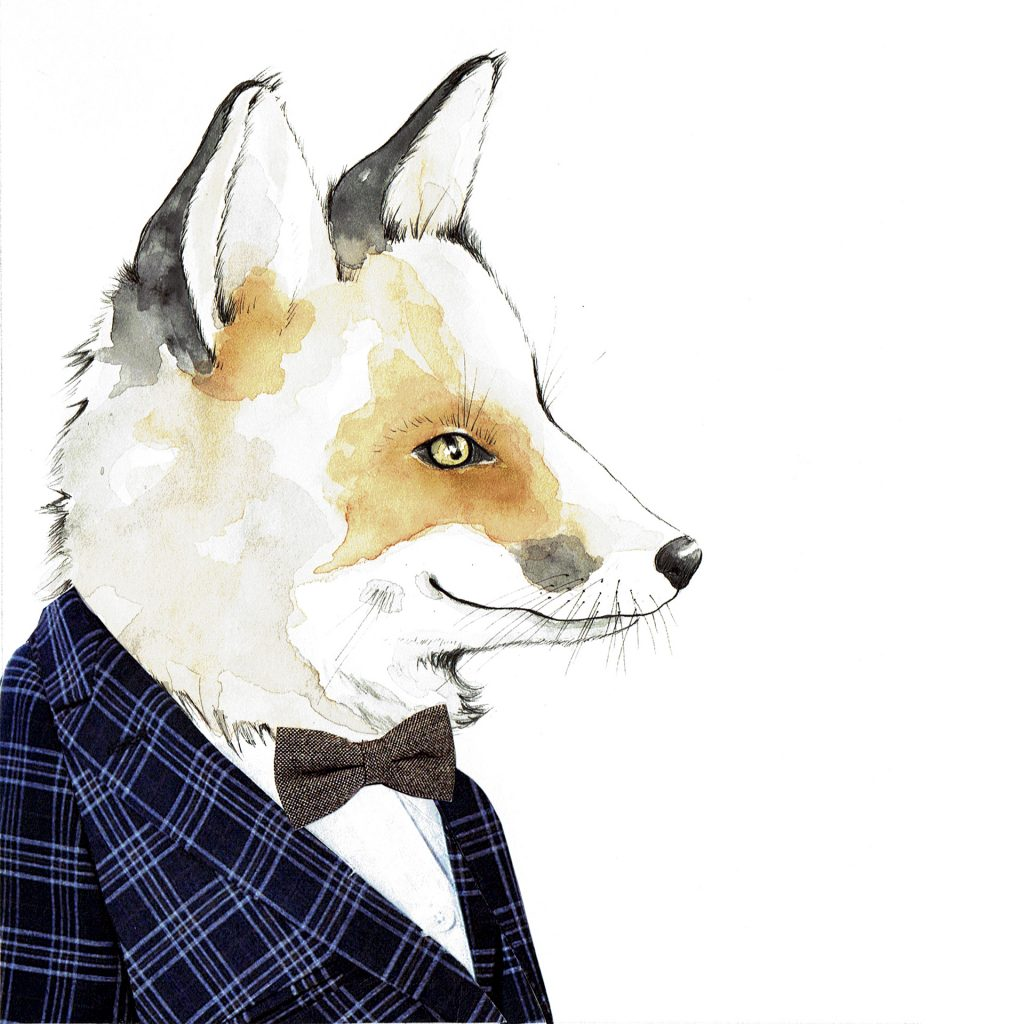 'Mr Fox' by Rachel Gregg