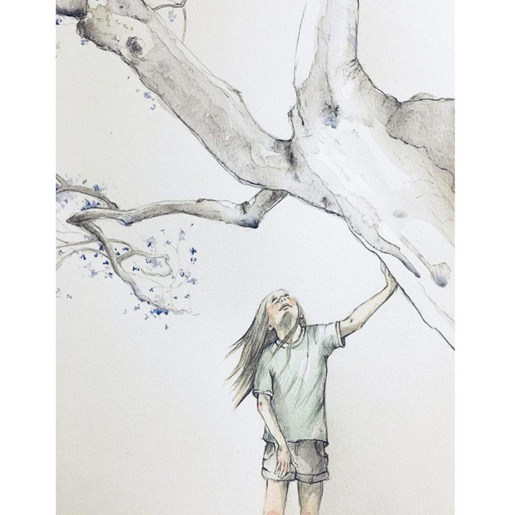 'Nana Jacaranda' by Rachel Gregg