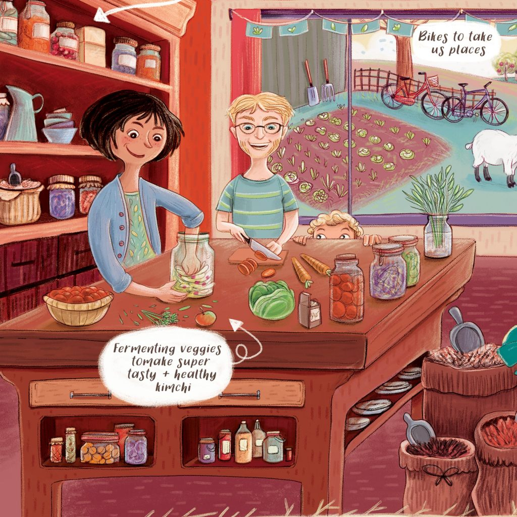 'Kitchen time' by Rachel Tribout