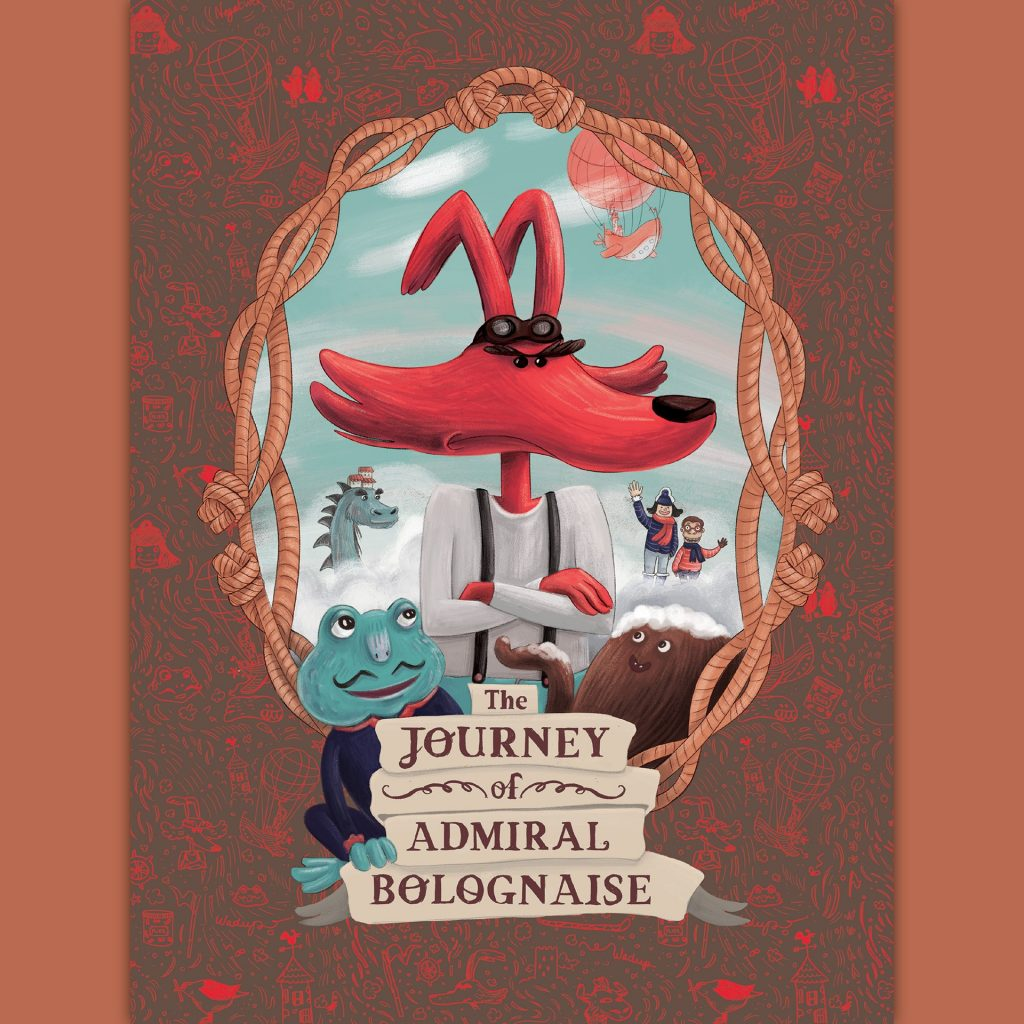 'The Journey of Admiral Bolognaise' by Rachel Tribout