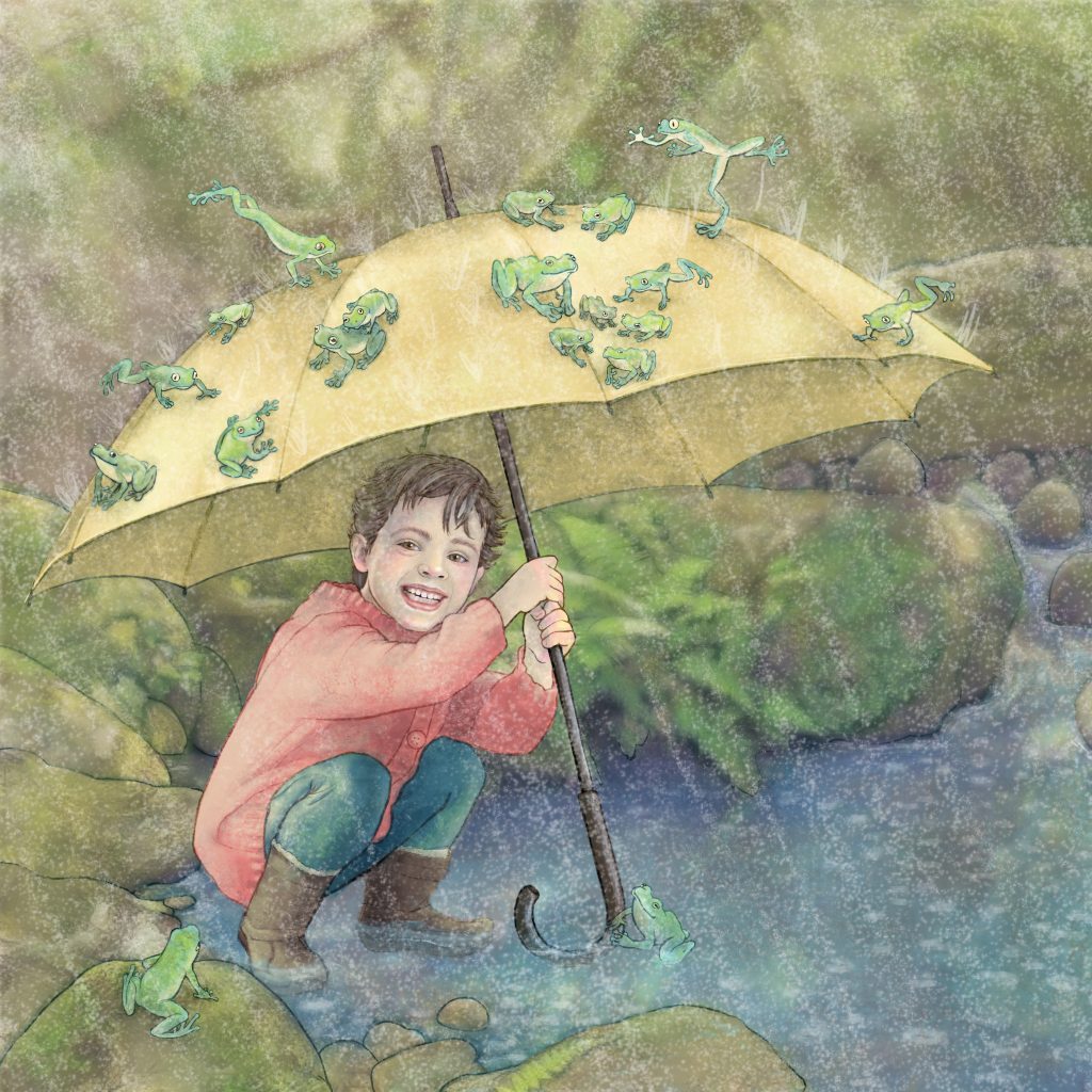 Raining Frogs by Jenny Hale