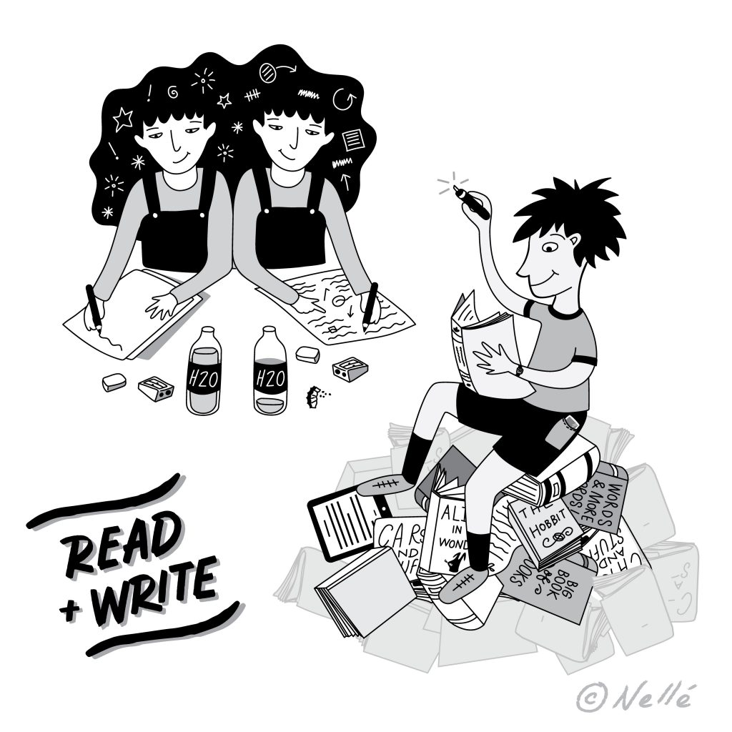 'Read and Write' by Nelle Pierce
