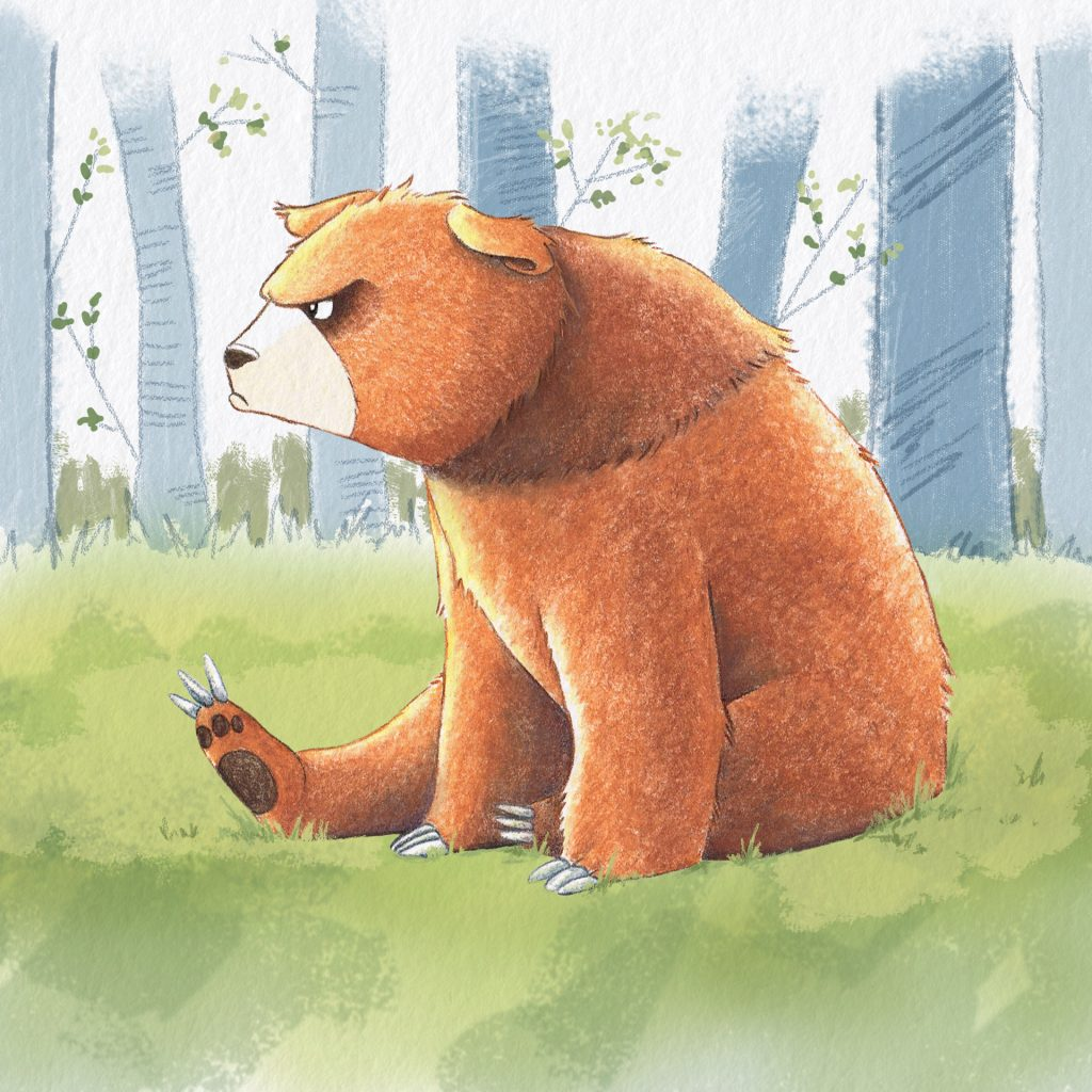 The Growly Bear by Rebecca Timmis