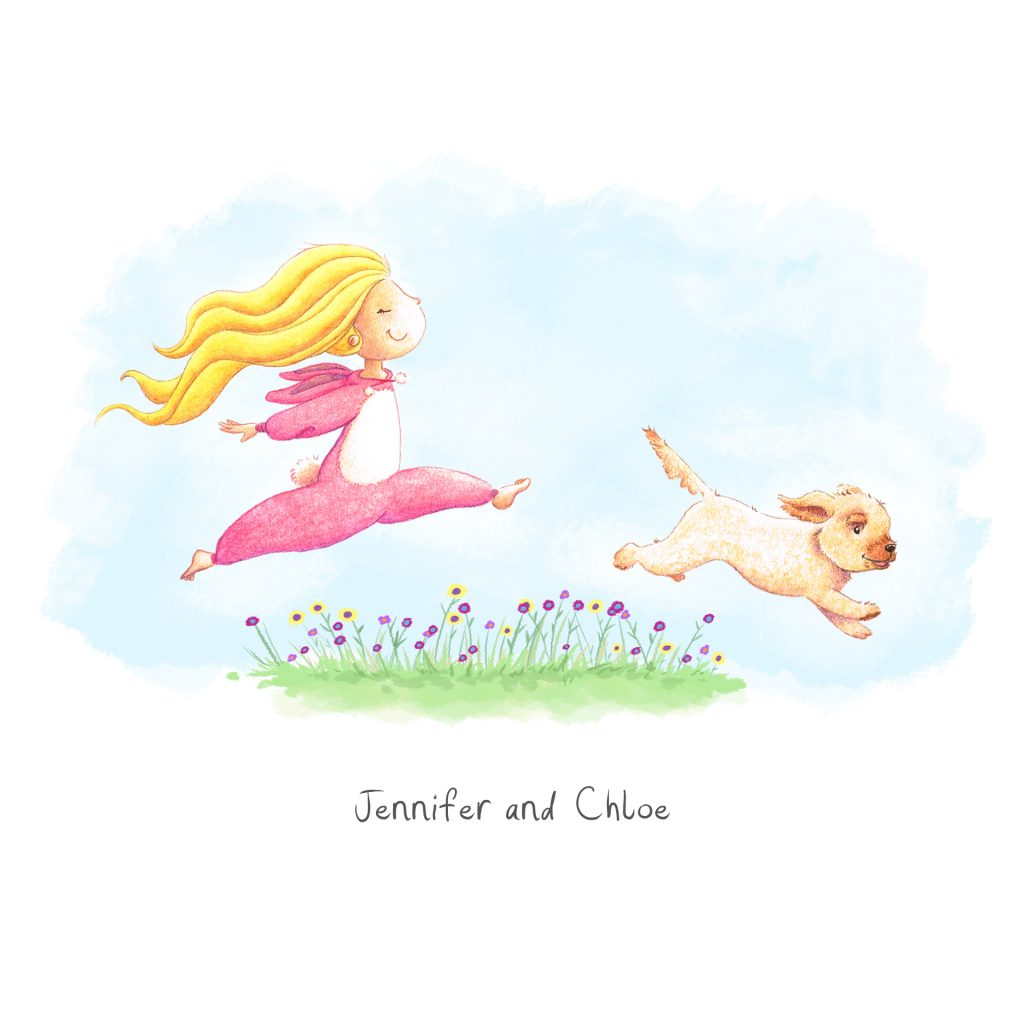 Jennifer and Clancy by Rebecca Timmis