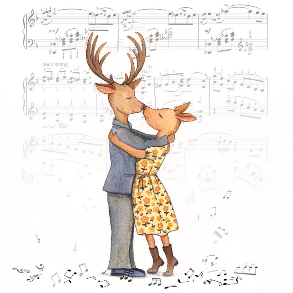 A Deer Romance by Rosalie Street