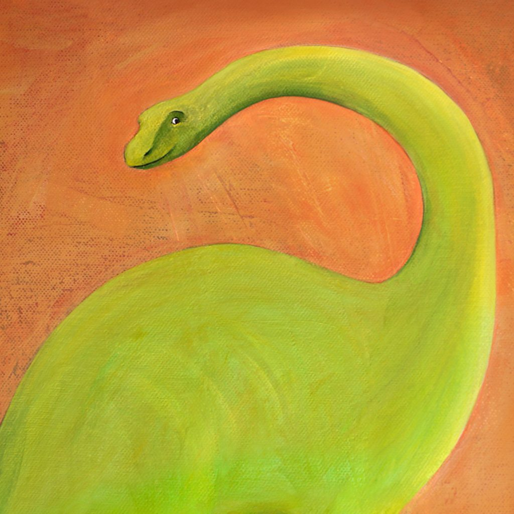 Dinosaur by Rosalie Street