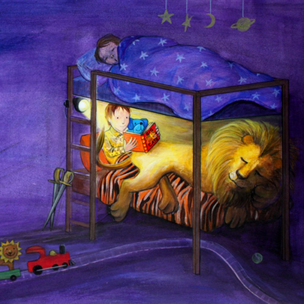 I Am Lion On My Bed by Rosalie Street