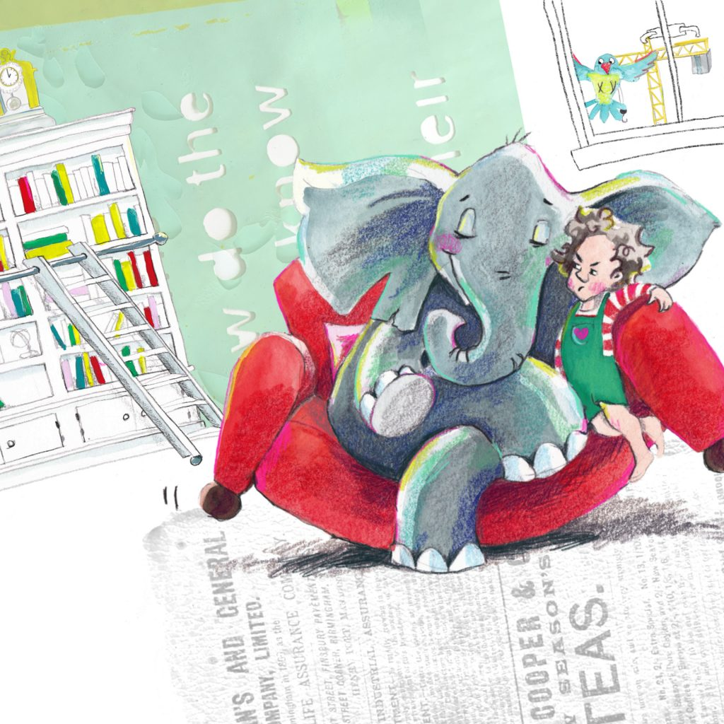 'Elephant in the Room' by Ruth de Vos