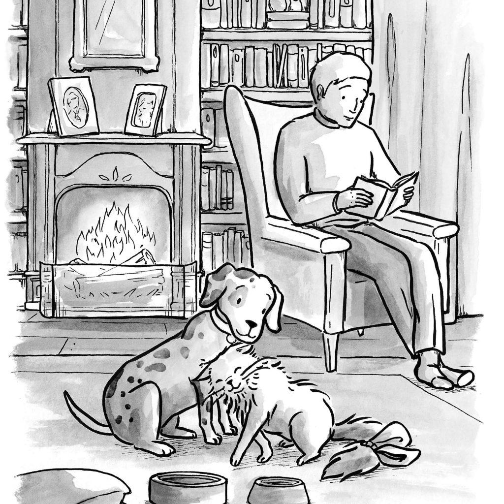 The Adventures of Catvinkle internal illustration by Laura Stitzel