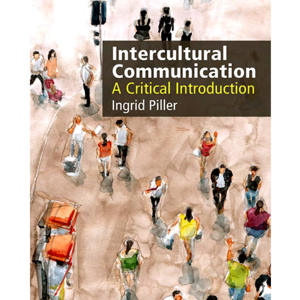 Sadami Konchi cover illustration - Intercultural Communication, by Ingrid Piller, Edinburgh University Press 2017