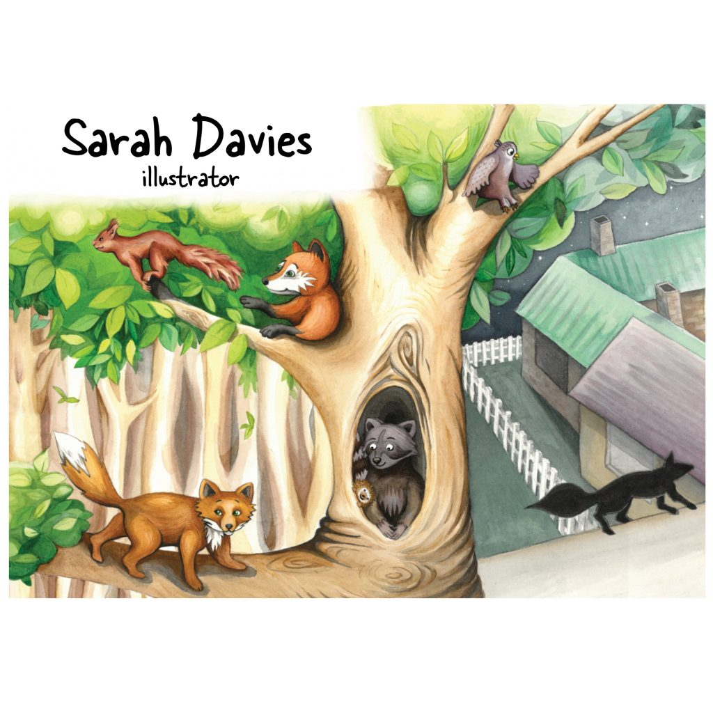 'Playing Chasey' by Sarah Davies
