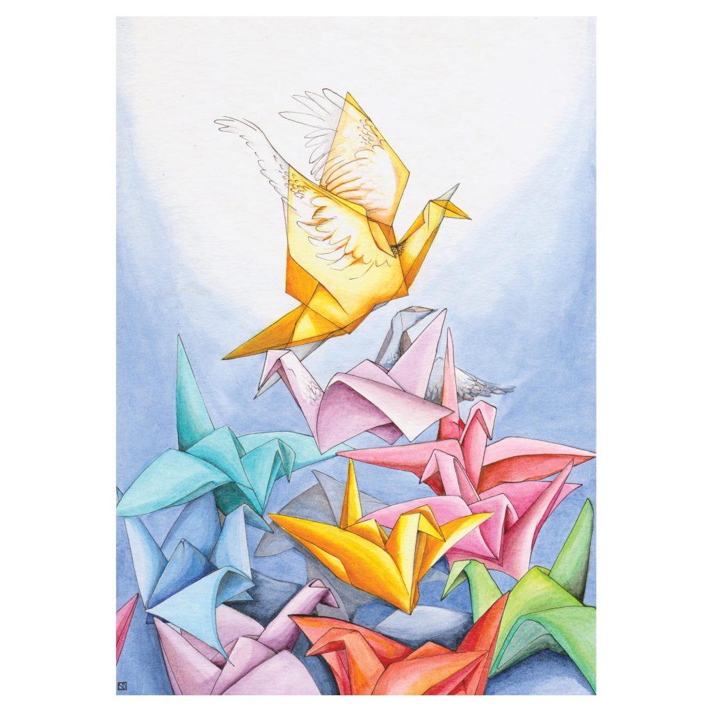 'Origami' by Sarah Davies
