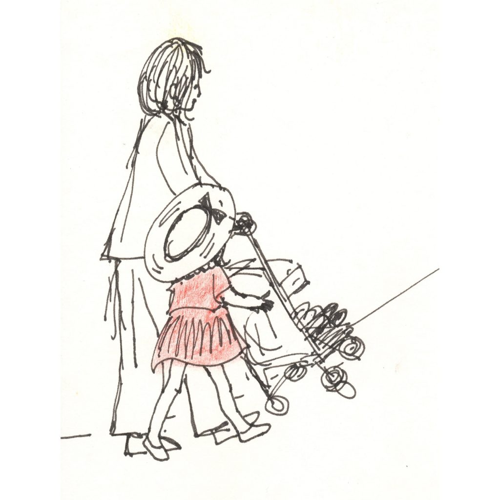 'Stroller' by Michele Fazio
