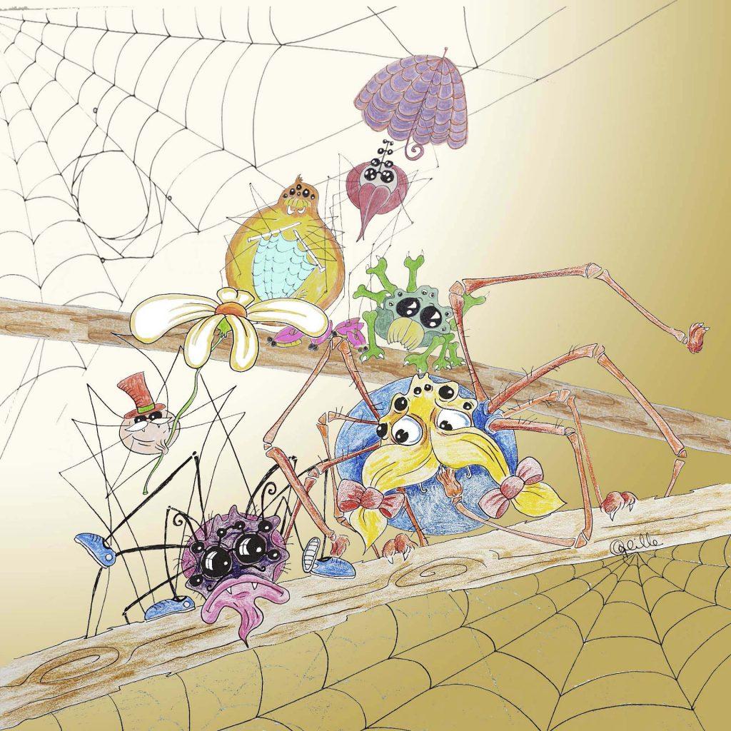 'Scaredy Spider' by Anna Gabrielle