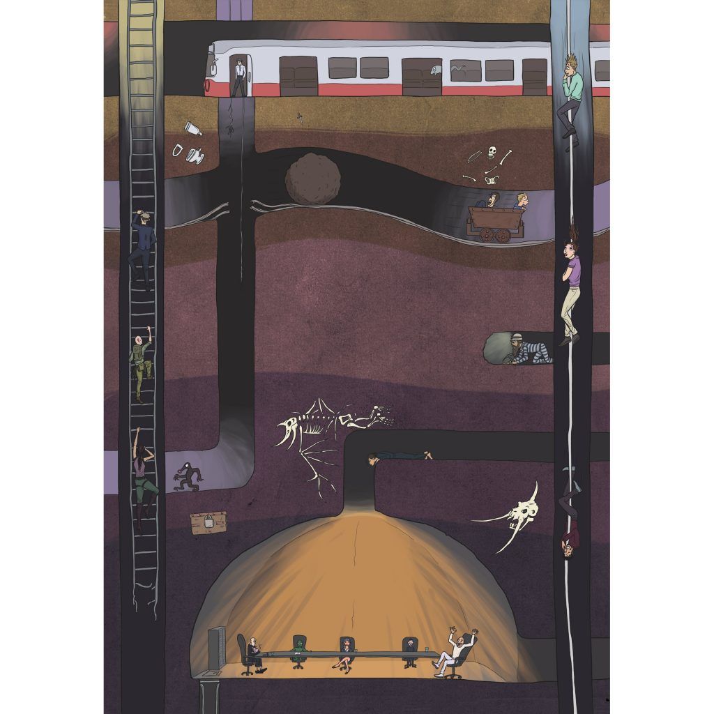 '100 SB - Going Underground' by Seb Fowler