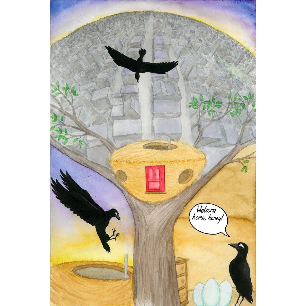 'Bat Ravensson page 1' by Seb Fowler