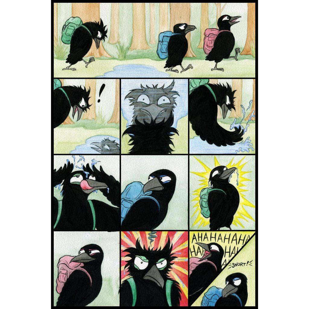 'Bat Ravensson page 7' by Seb Fowler