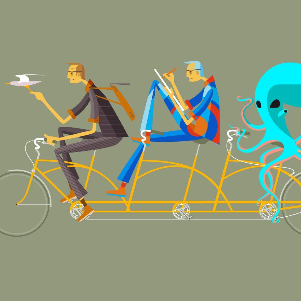 A Pleasant Ride by Simon Swingler