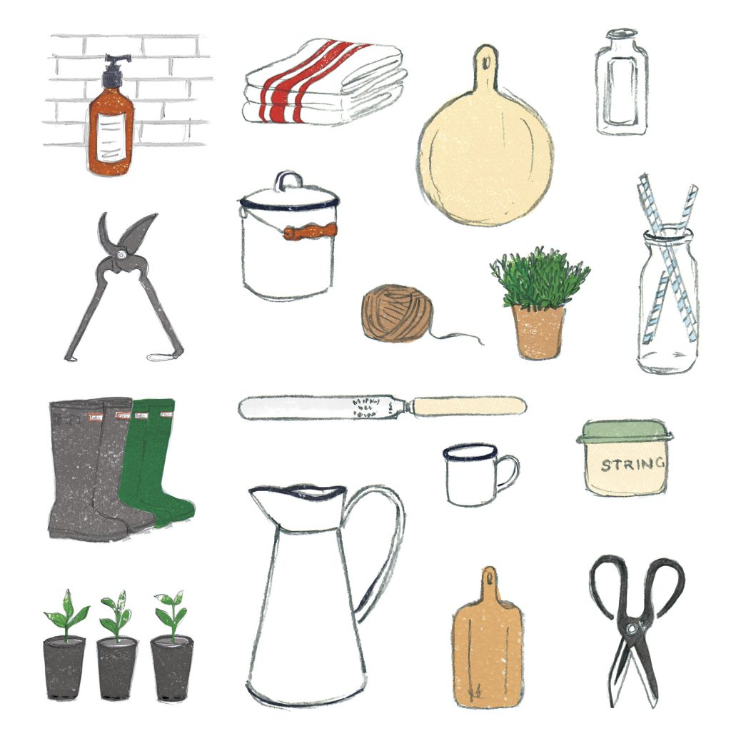 'Kitchen Items' by Simone Hale