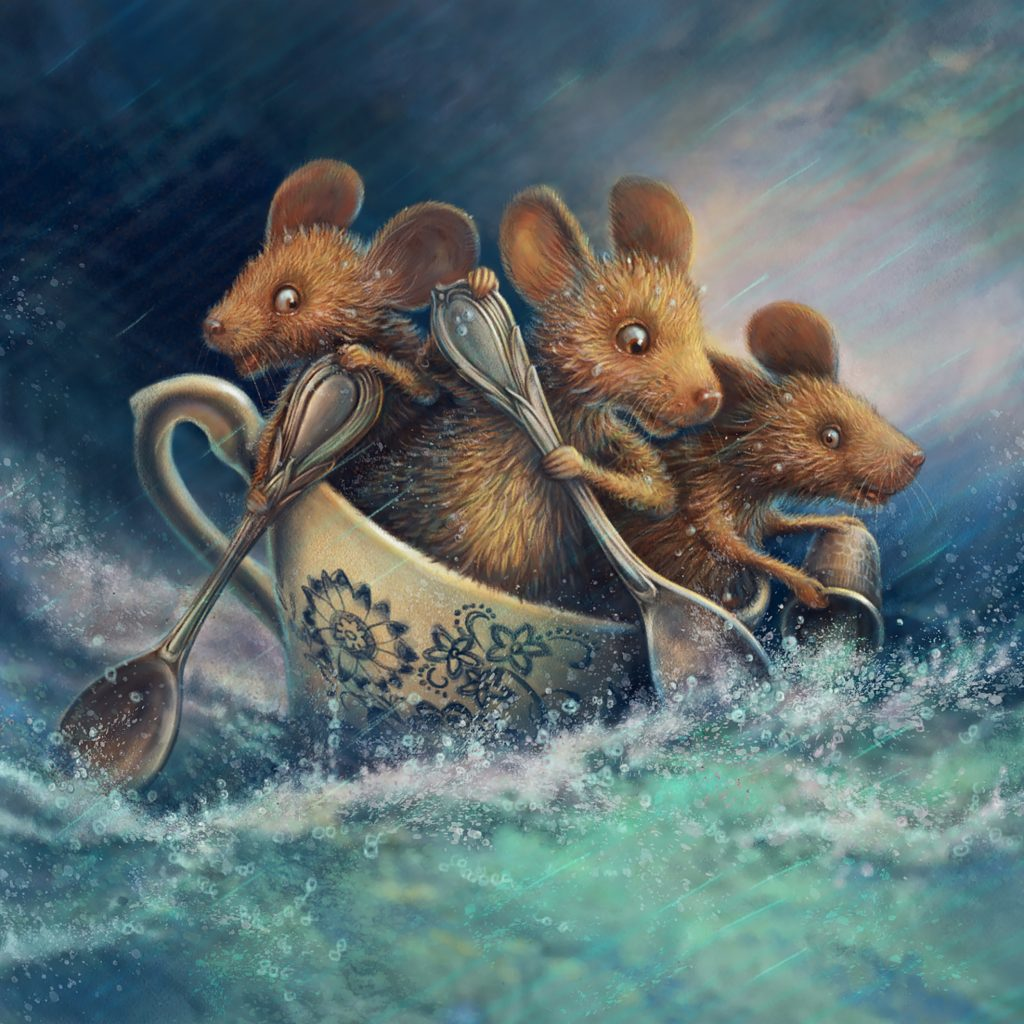 'Storm in a Teacup' by Marjorie Crosby-Fairall