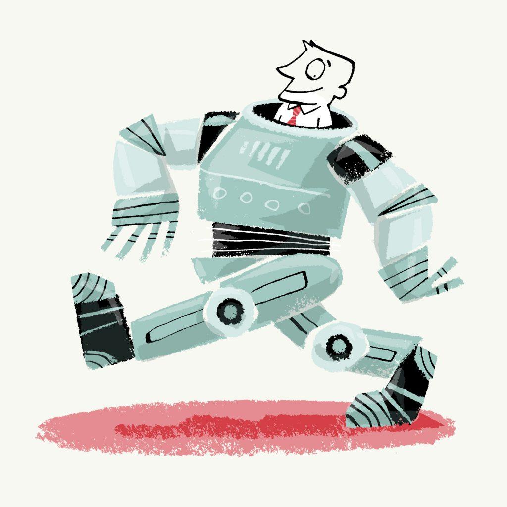'Robot testing' by Michel Streich