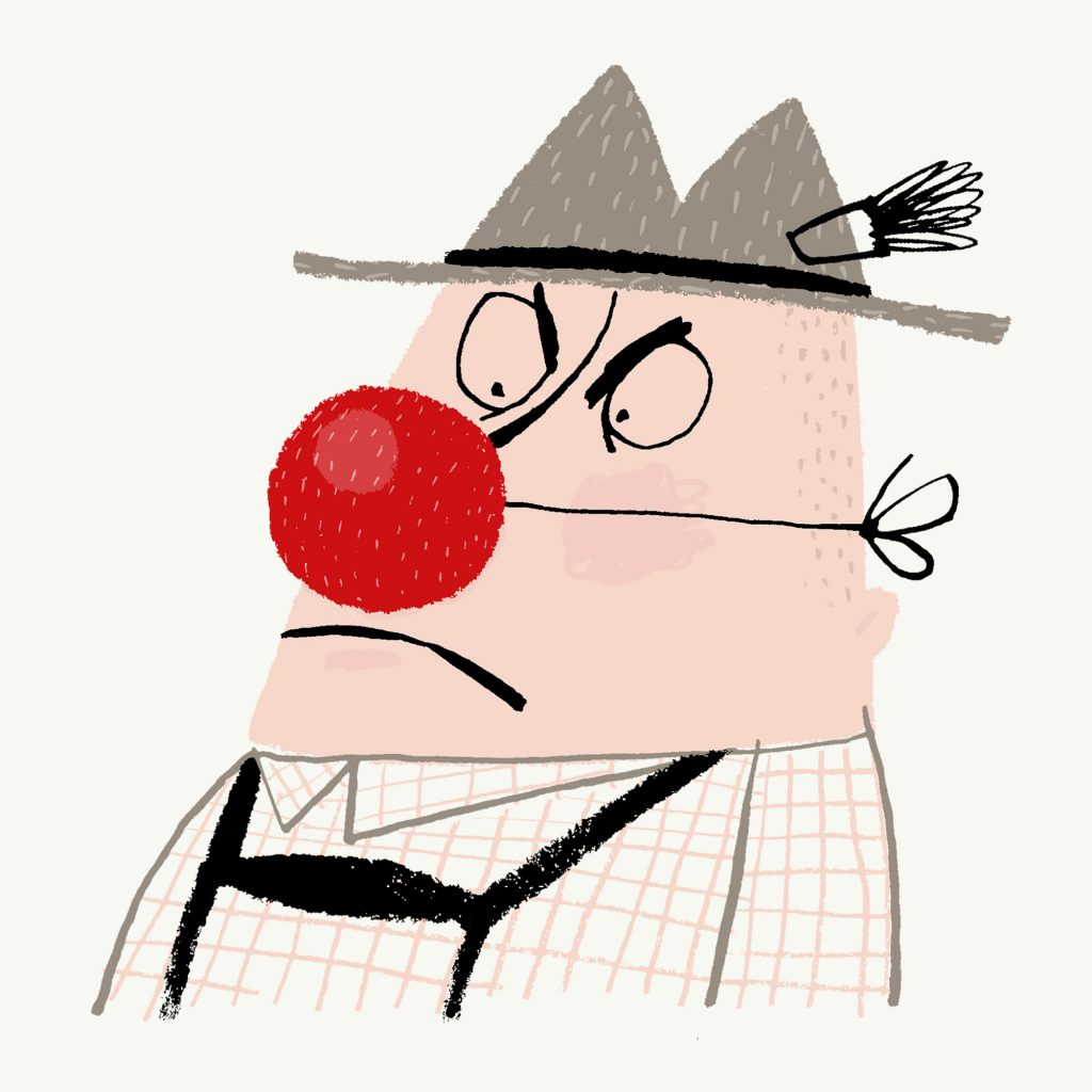 'Clowning' by Michel Streich