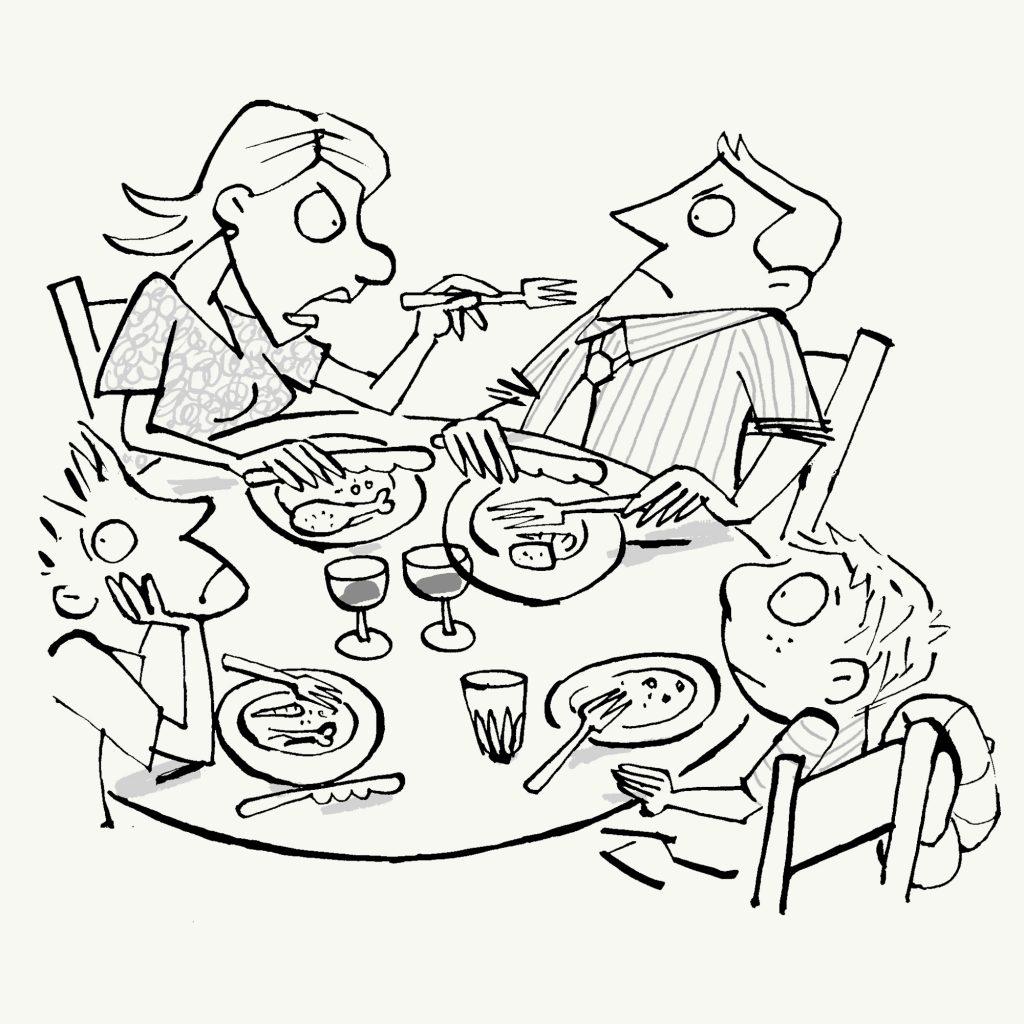 'Dinner' by Michel Streich