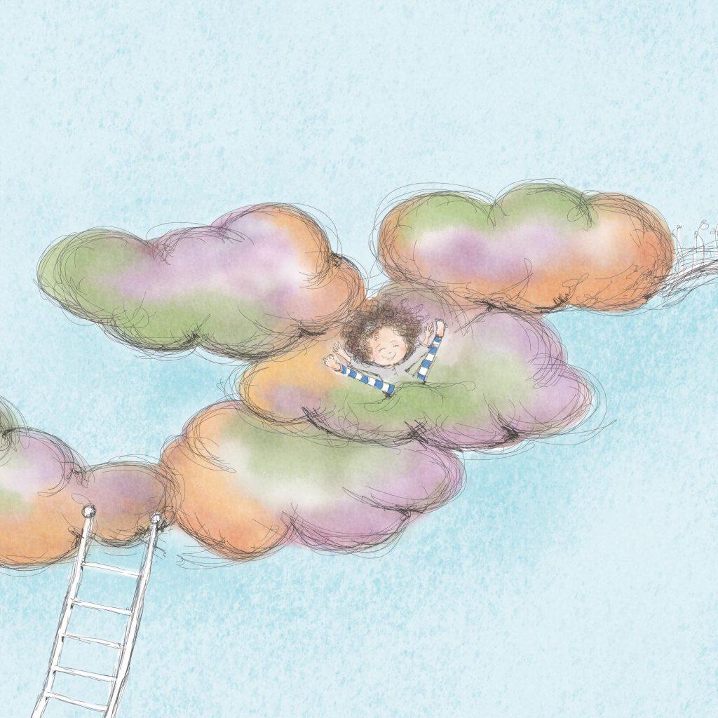 'What if clouds...' by Kirrili Lonergan