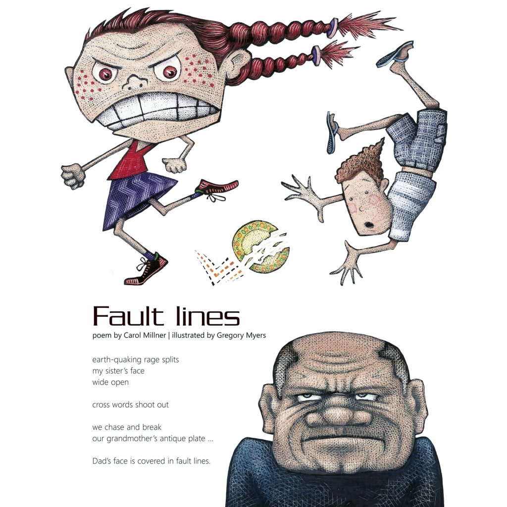 'Fault Lines' by Gregory Myers