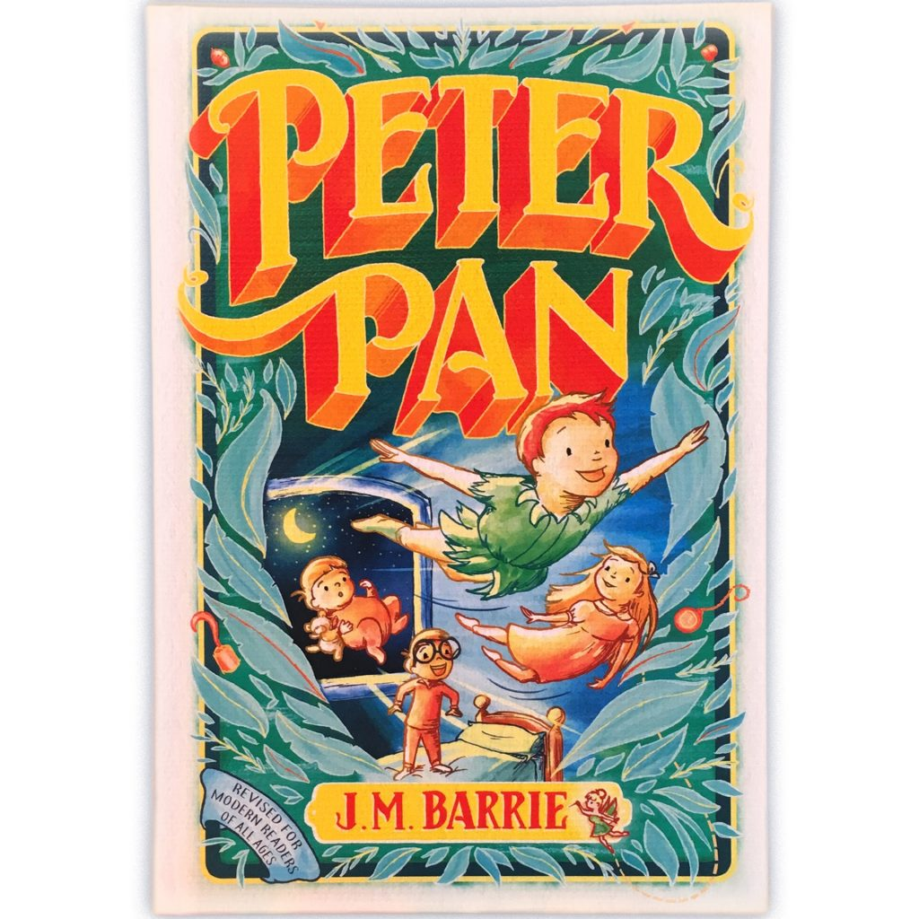 'Peter Pan' cover, Hinkler Books - Laura Stitzel