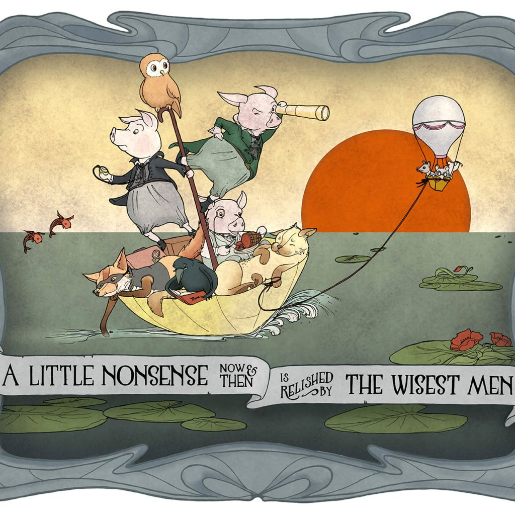 'A Little Nonsense' by Laura Stitzel