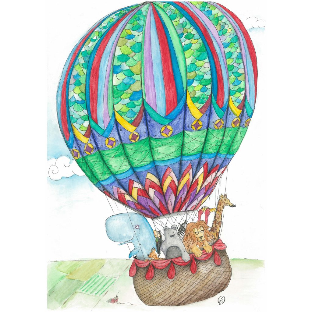 'The Balloon Trip' by Noelene Kizis