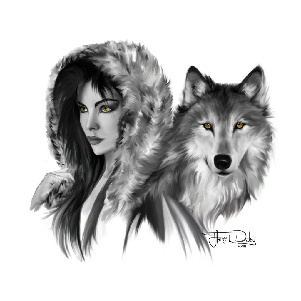 'Wolf Queen' by Tiffanee Daley