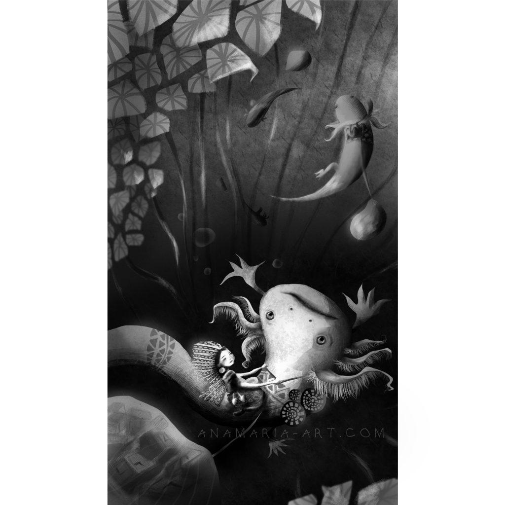 'Guarding Time' by Ana Maria Mendez Salgado
