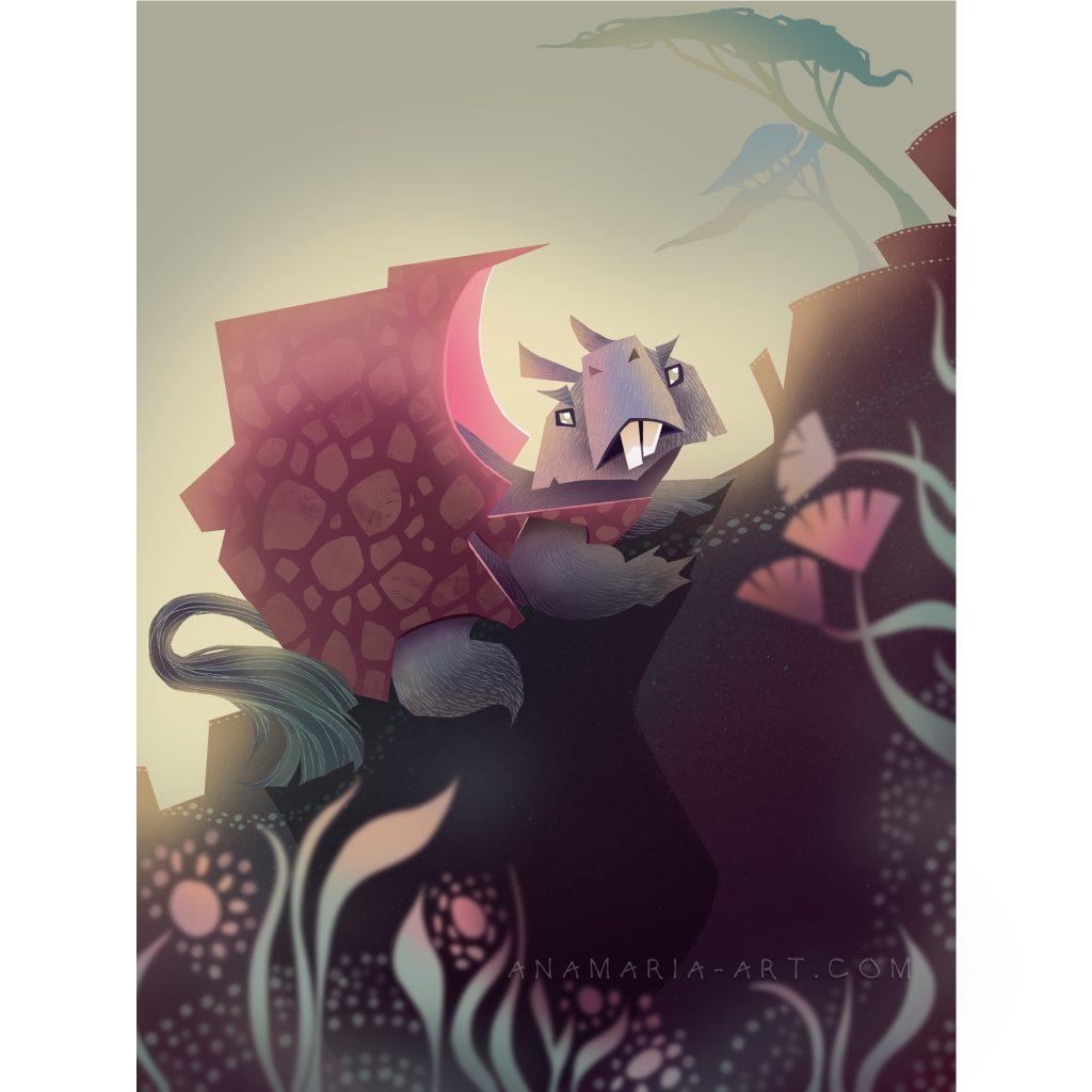 'Bunyip' by Ana Maria Mendez Salgado