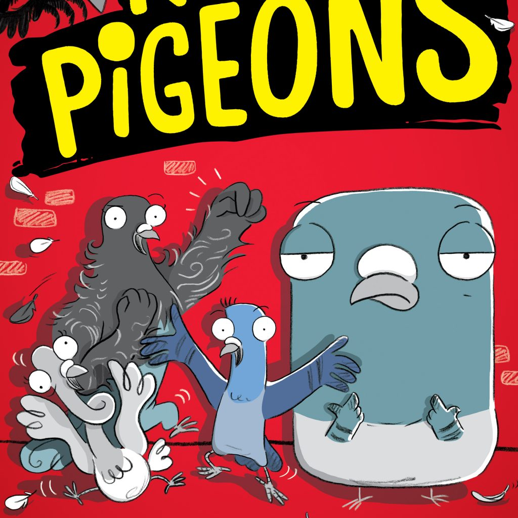 'Real Pigeons Fight Crime' by Ben Wood