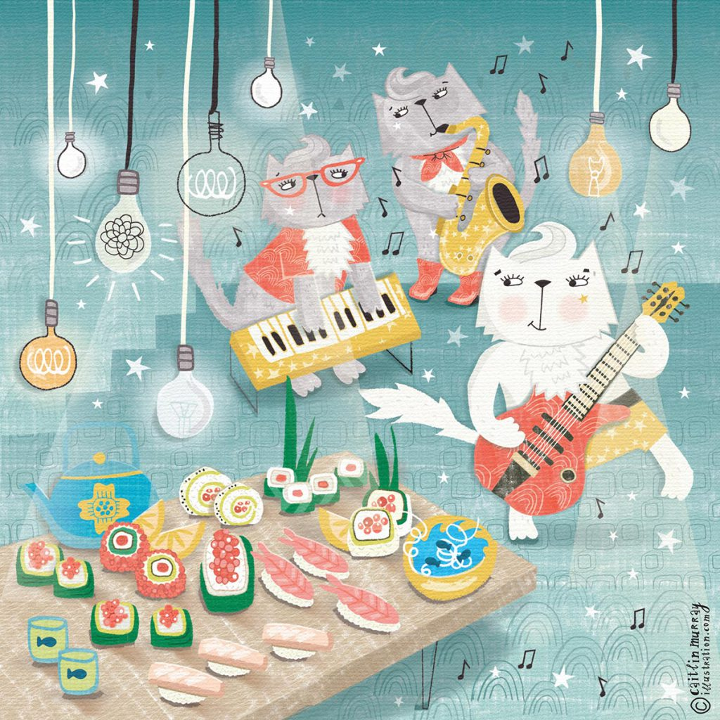 'White Cat Band' by Caitlin Murray