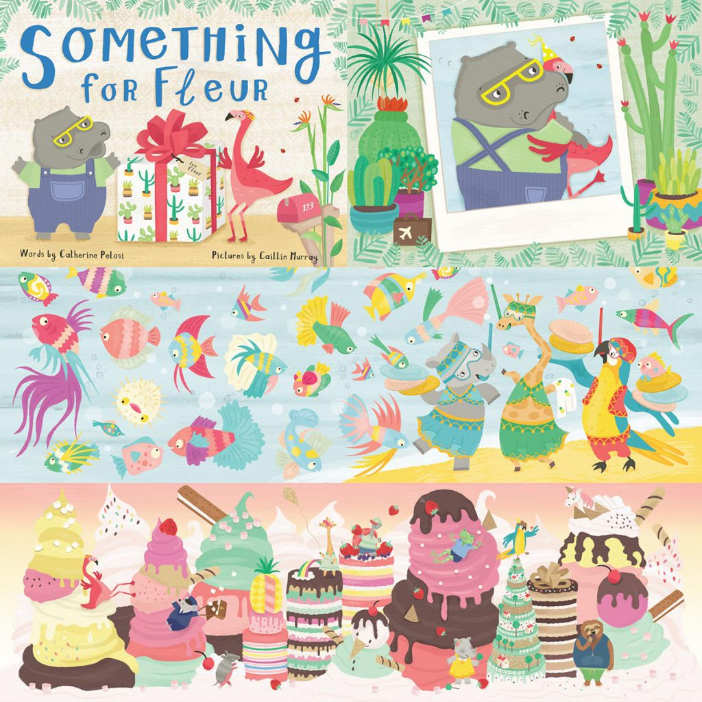 'Something For Fleur' by Caitlin Murray, published by Lothian 2018