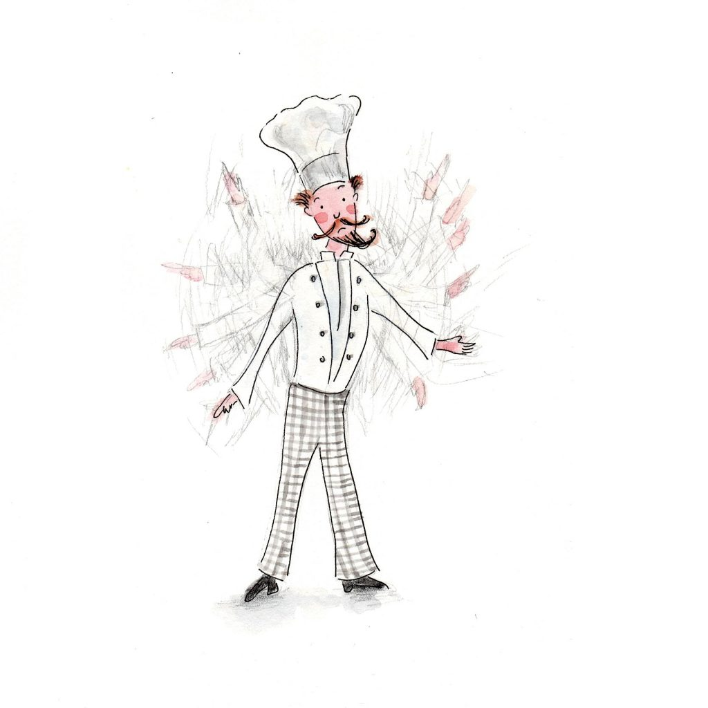 'The chef' by Julia Weston