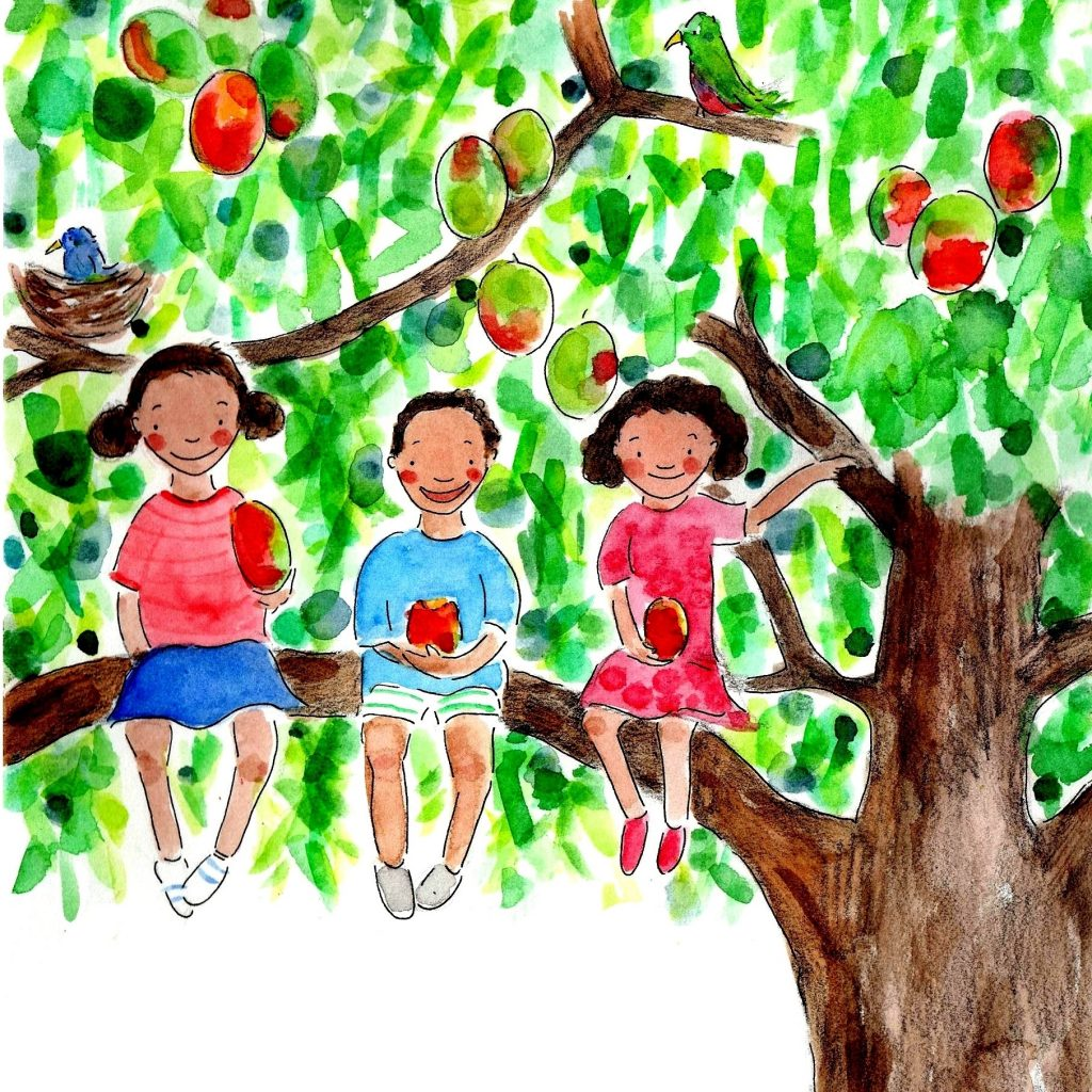 'Our favourite mango tree cover' by Julia Weston