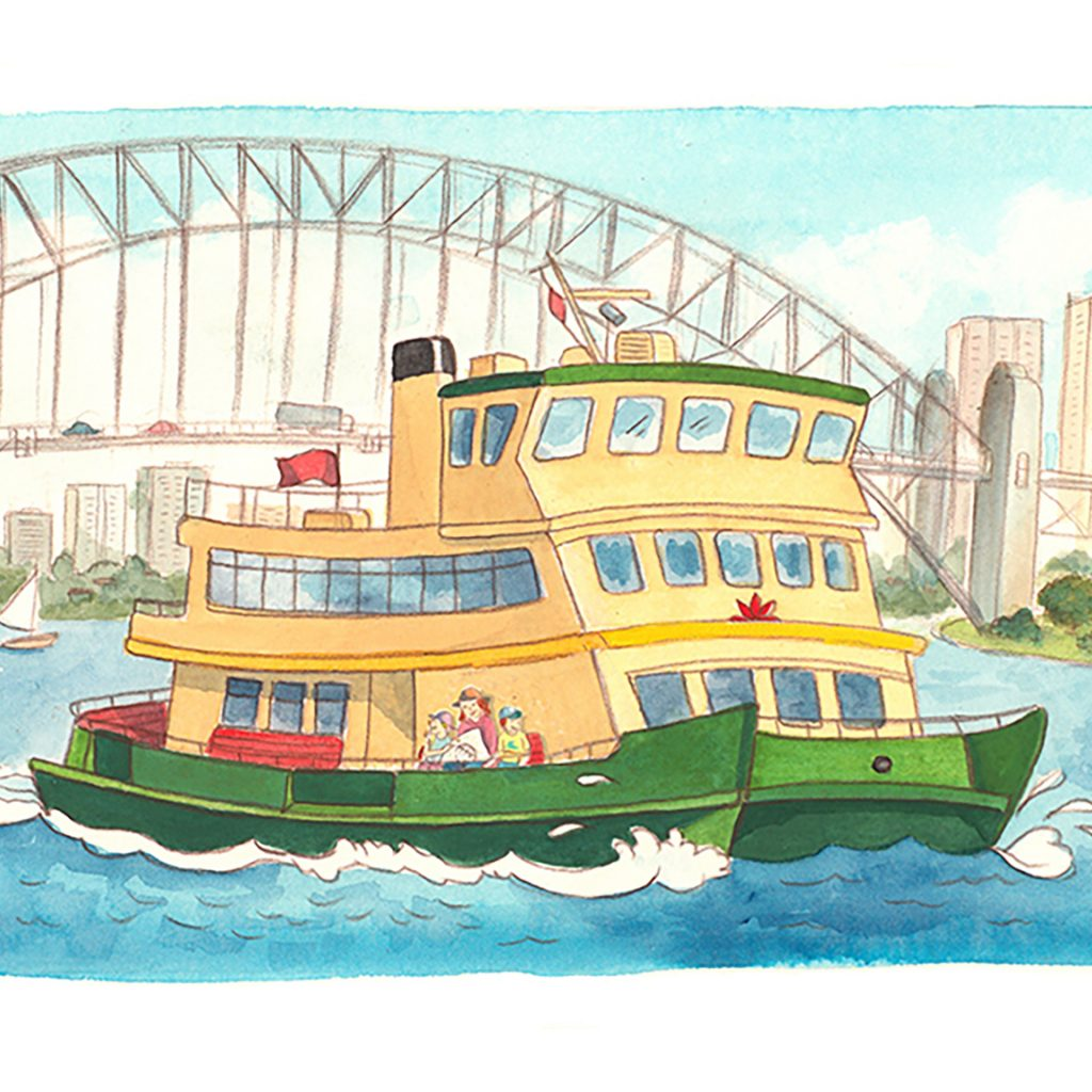 Sydney is a fun place too! by Caroline Keys