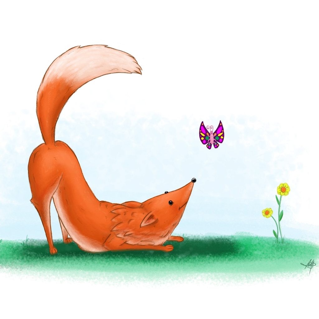 'Fox and Friend' by Maggie McMahon