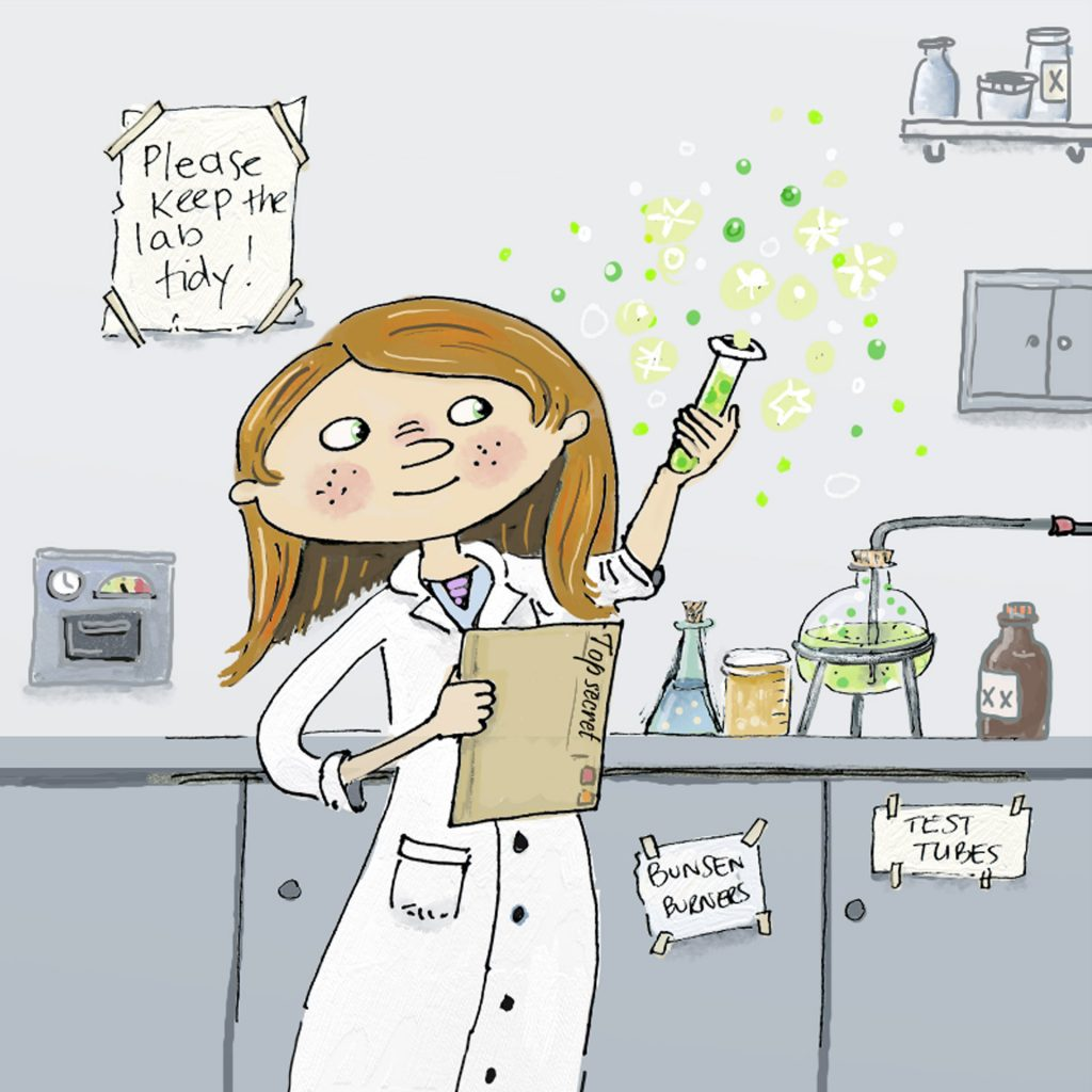 'Girl Scientist' by Janet Trotta