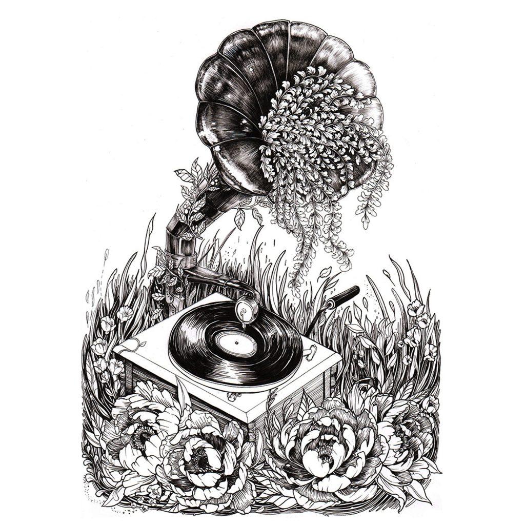'Gramaphone Vibin' by Sarah Lin