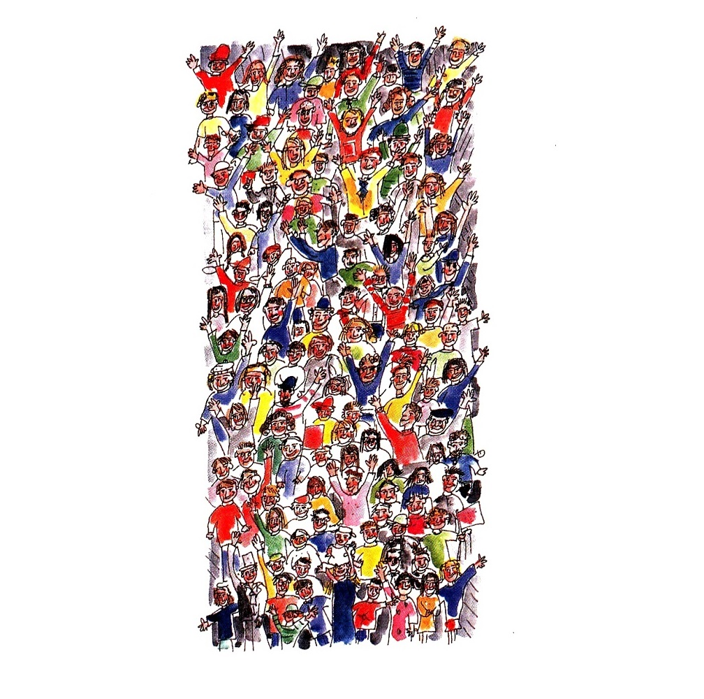 'The crowd' by Julia Weston
